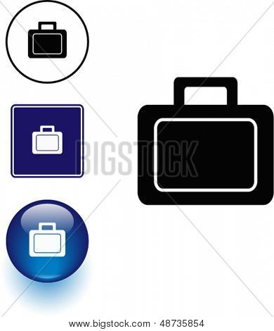 lunch box symbol sign and button
