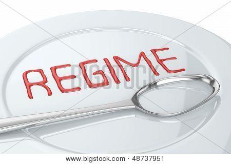 Cuchara de régimen