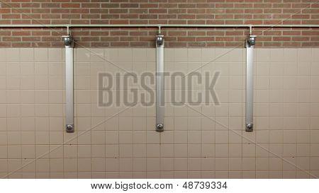 Three Showers