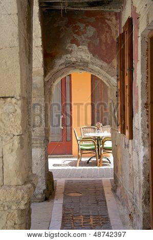 Rethymno on Crete