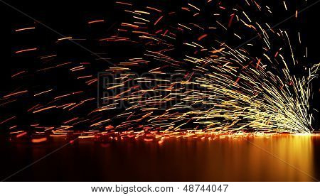 Flowing Sparks