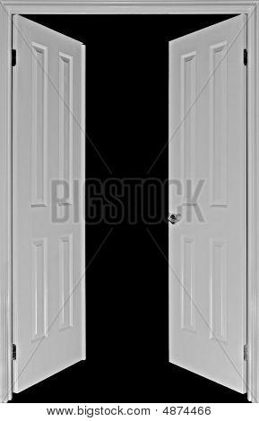 Doors On Black