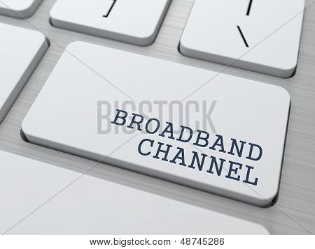 Broadband Channel - Internet Concept.