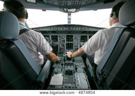 Plane At Takeoff