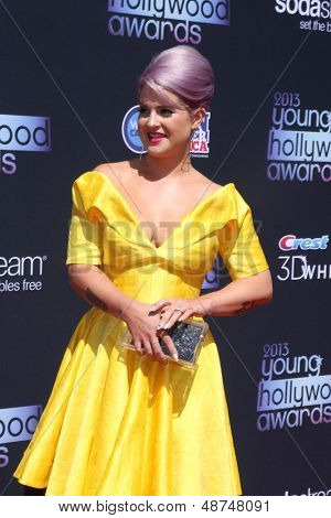 LOS ANGELES - AUG 1:  Kelly Osbourne arrives at the 2013 Young Hollywood Awards at the Broad Stage on August 1, 2013 in Santa Monica, CA