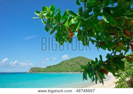 Beautiful View Of Tortola, British Virgin Islands