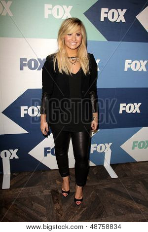 SLOS ANGELES - AUG 1:  Demi Lovato arrives at the Fox All-Star Summer 2013 TCA Party at the SoHo House on August 1, 2013 in West Hollywood, CA
