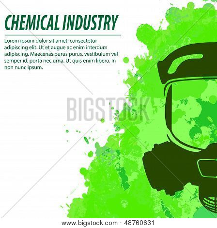 Gas mask and chemical industry