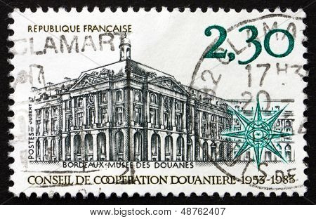 Postage Stamp France 1983 Customs Cooperation Council