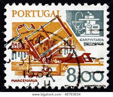 Postage Stamp Portugal 1978 Carpentry, Old And New