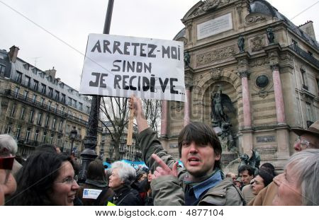 Protests Against French Immigrant Laws