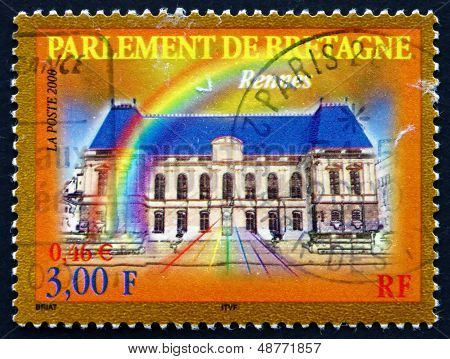 Postage Stamp France 2000 Bretagne Parliament