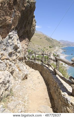Way to Preveli Beach