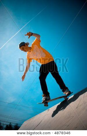 Cool Skateboarder