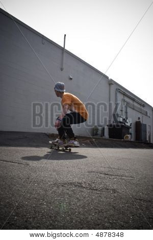 Skateboarding Around