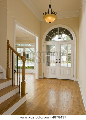 Luxury Home Foyer And Staircase