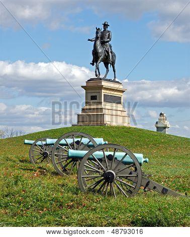 General Hancock At Gettysburg