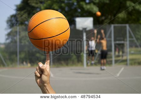 Basketball Spinning