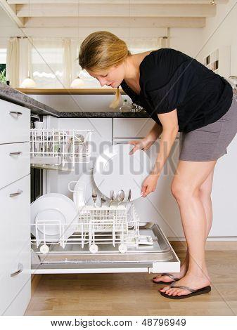 Unloading The Dishwasher