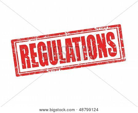 Regulations-stamp