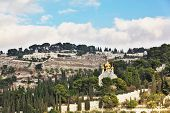 stock photo of church mary magdalene  - Holy Jerusalem - JPG