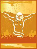 Постер, плакат: Иисус