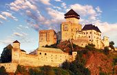 pic of castle  - TRENCIN - JPG