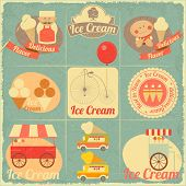 Ice Cream Retro Card