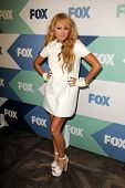 SLOS ANGELES - AUG 1:  Paulina Rubio arrives at the Fox All-Star Summer 2013 TCA Party at the SoHo H