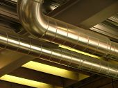 picture of air conditioner  - ventilation in the ceiling - JPG