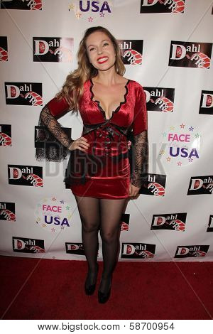 Emily Ramirez at the Monster Man Costume Ball, Cabo Wabo, Hollywood, CA 10-16-13