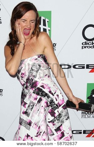 Juliette Lewis at the 17th Annual Hollywood Film Awards Arrivals, Beverly Hilton Hotel, Beverly Hills, CA 10-21-13