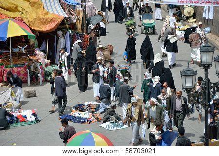 Street In Sanaa