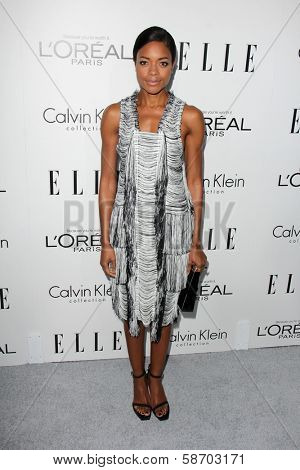 Naomie Harris at the Elle 20th Annual