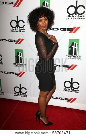 Angela Bassett at the 17th Annual Hollywood Film Awards Arrivals, Beverly Hilton Hotel, Beverly Hills, CA 10-21-13