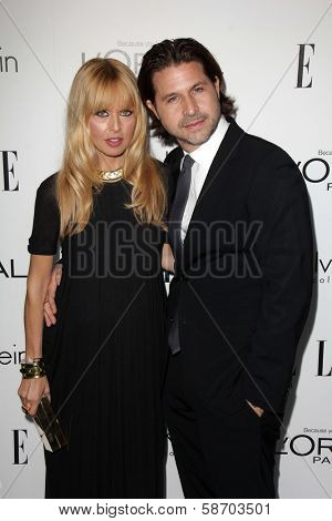 Rachel Zoe and Rodger Berman at the Elle 20th Annual