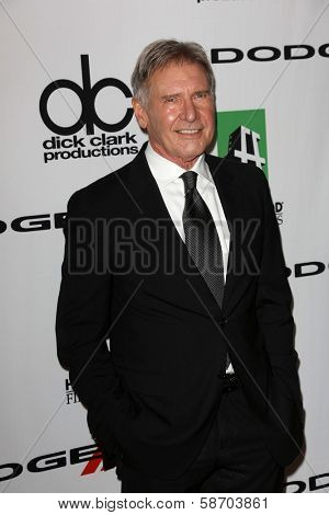 Harrison Ford at the 17th Annual Hollywood Film Awards Arrivals, Beverly Hilton Hotel, Beverly Hills, CA 10-21-13