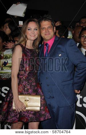 Jeff Tremaine and wife at the
