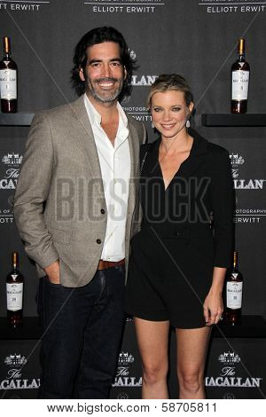 Carter Oosterhouse, Amy Smart at the Macallan Masters of Photography Featuring Elliott Erwitt, Leica Gallery, Los Angeles, CA 10-24-13