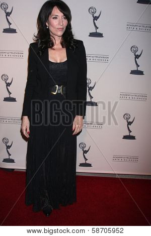 "Katey Sagal at An Evening with ""Sons of Anarchy,"" Leonard H. Goldenson Theater, North Hollywood, CA 10-25-13"