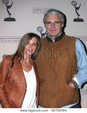 "Kathy Fischer and Michael Nouri at An Evening with ""Sons of Anarchy,"" Leonard H. Goldenson Theater, North Hollywood, CA 10-25-13"