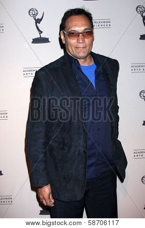 "Jimmy Smits at An Evening with ""Sons of Anarchy,"" Leonard H. Goldenson Theater, North Hollywood, CA 10-25-13"