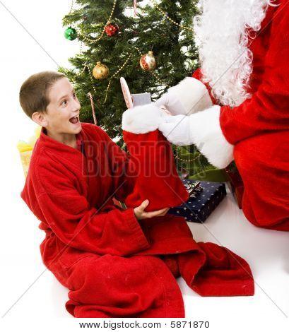 Christmas Stocking From Santa