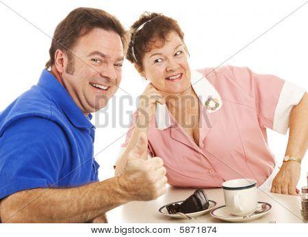 Hitting On The Waitress