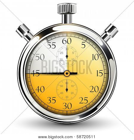 Stop watch, 45 seconds