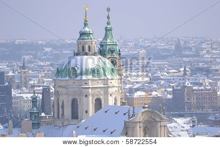 Church Of St Nicholas In Prague
