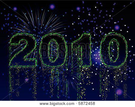 Fireworks 2010 background