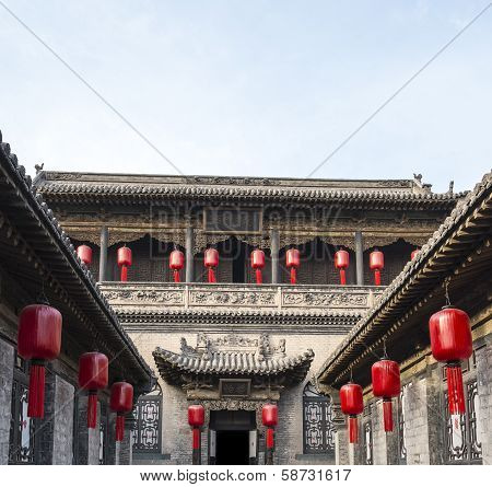 Qiao Family Courtyard in Pingyao China