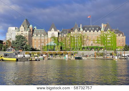 View of Inner Harbour of Victoria.