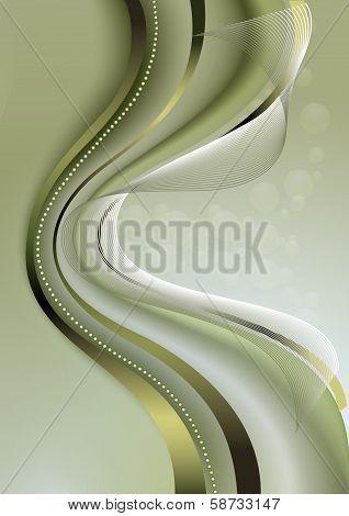 Light green wavy mesh background